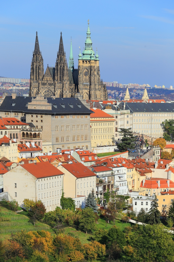 Prague_Vltava bridges